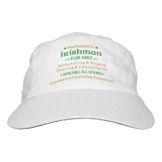 Irlandés auténtico para el alquiler gorra de alto rendimiento