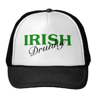 Irlandés bebido gorros
