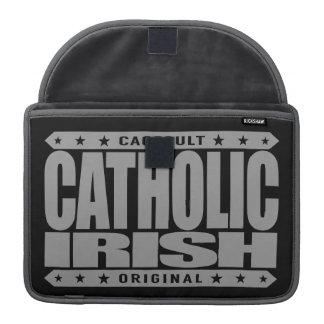 IRLANDÉS CATÓLICO - guerrero céltico, fiel a dios Funda Para Macbook Pro