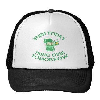 Irlandés colgado hoy encima mañana gorras de camionero