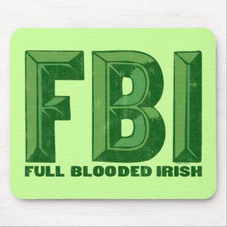 Irlandés completo Mousepad de Blooded