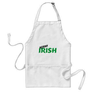 Irlandés córneo delantal