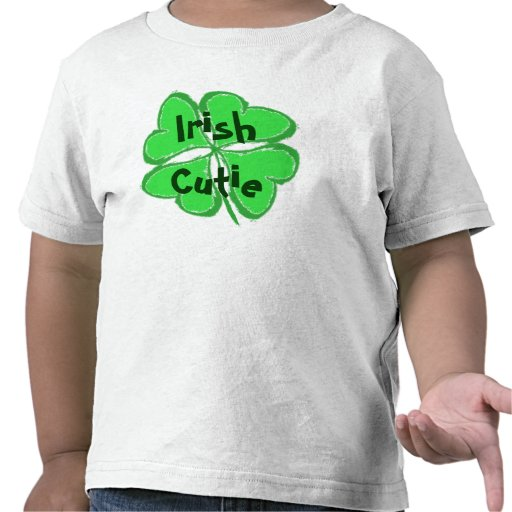Irlandés Cutie Camisetas
