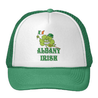 Irlandés de Albany Gorras De Camionero