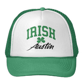 Irlandés de Austin Gorra