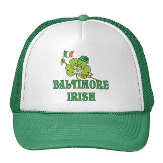 Irlandés de Baltimore Gorras