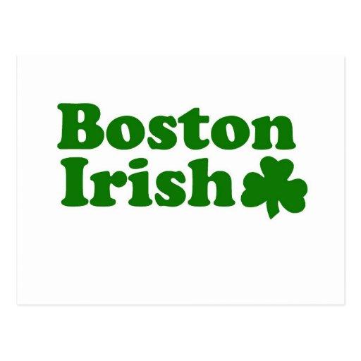 Irlandés de Boston Postal