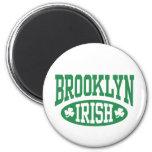 Irlandés de Brooklyn Imán Redondo 5 Cm