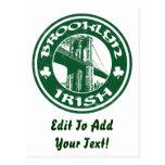 Irlandés de Brooklyn Tarjetas Postales