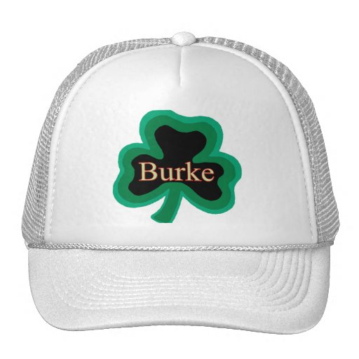 Irlandés de Burke Gorras De Camionero
