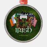 Irlandés de Chicago Adorno Para Reyes