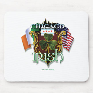 Irlandés de Chicago Alfombrillas De Ratones