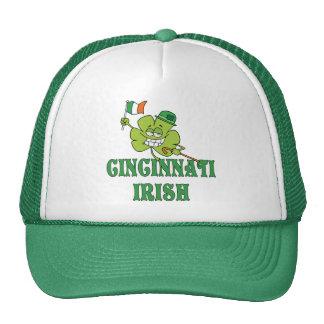 Irlandés de Cincinnati Gorras