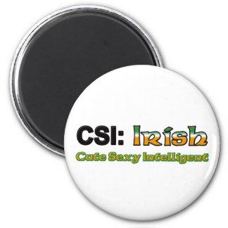 Irlandés de CSI Imán Redondo 5 Cm