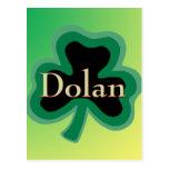 Irlandés de Dolan Tarjeta Postal