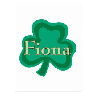Irlandés de Fiona Postal