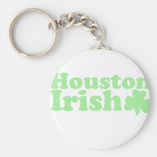 Irlandés de Houston Llavero Personalizado
