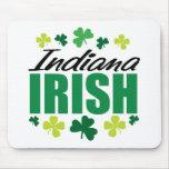Irlandés de Indiana Alfombrillas De Ratón