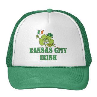 Irlandés de Kansas City Gorros