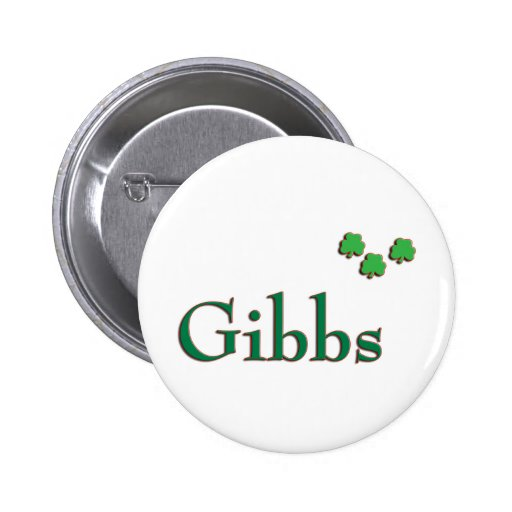 Irlandés de la familia de Gibbs Pin Redondo 5 Cm