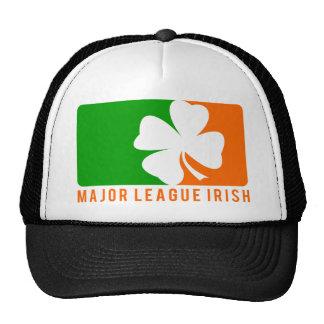 Irlandés de la primera división gorros bordados