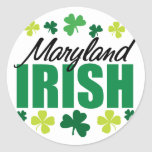 Irlandés de Maryland Pegatina