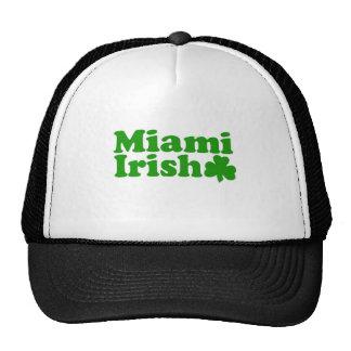Irlandés de Miami Gorras De Camionero
