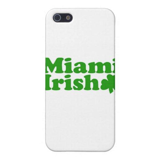 Irlandés de Miami iPhone 5 Cárcasa