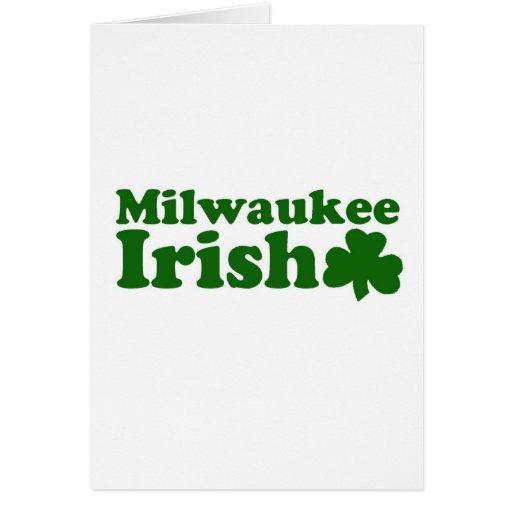 Irlandés de Milwaukee Felicitacion