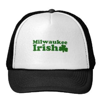 Irlandés de Milwaukee Gorras De Camionero