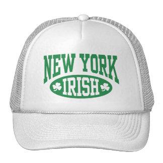 Irlandés de Nueva York Gorras