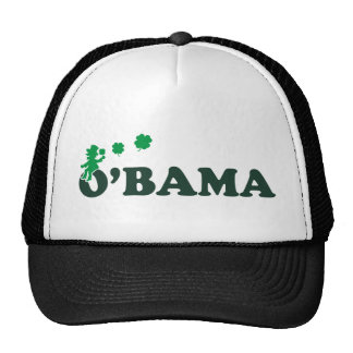 irlandés de obama gorras