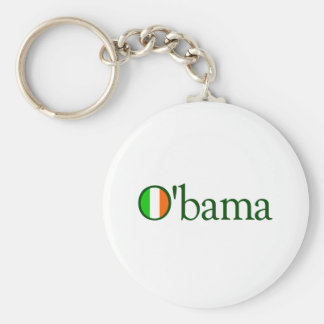 Irlandés de Obama Llavero Redondo Tipo Pin