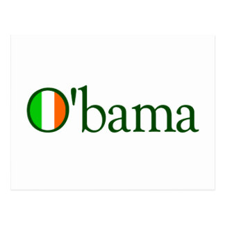 Irlandés de Obama Postal