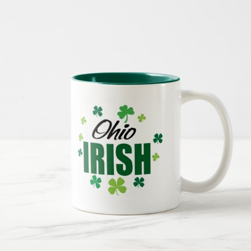 Irlandés de Ohio Taza Dos Tonos