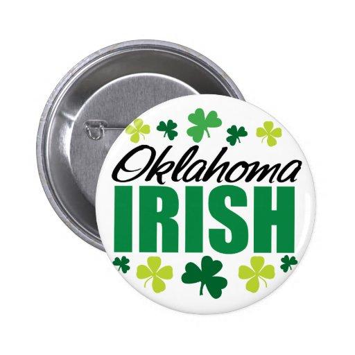 Irlandés de Oklahoma Pins