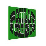 Irlandés de Philly Impresiones En Lienzo Estiradas