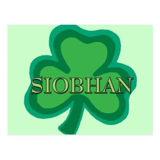 Irlandés de Siobhan Tarjetas Postales
