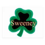 Irlandés de Sweeny Postales