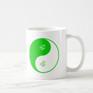 Irlandés de Yin Yang Tazas De Café