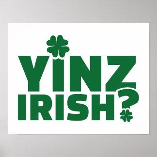 Irlandés de Yinz Póster