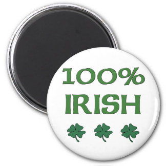 Irlandés del 100% imán redondo 5 cm