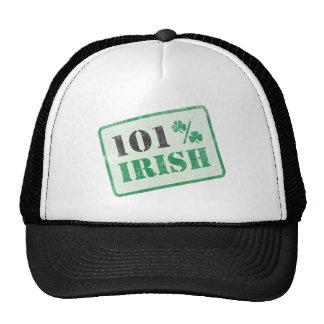 Irlandés del 101% - el día de St Patrick Gorros Bordados