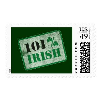 Irlandés del 101% - el día de St Patrick Sellos