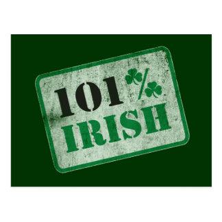 Irlandés del 101% - el día de St Patrick Postales