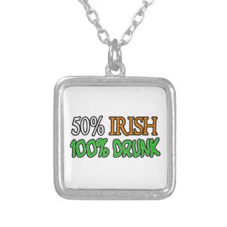Irlandés del 50%, el 100% borracho colgante