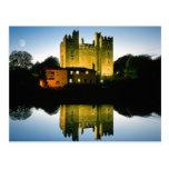 Irlandés del castillo de Bunratty Tarjeta Postal
