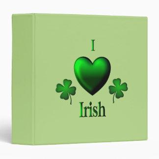 """Irlandés del corazón del verde I Carpeta 1 1/2"""""""