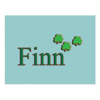 Irlandés del Finn Postales