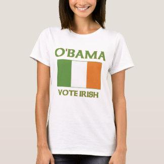 Irlandés del voto de Obama Playera